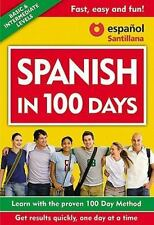 Spanish in 100 Days by Aguilar Staff (2011, Paperback)