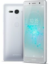 "Sony Xperia XZ2 Compact 64GB 4GB 5"" H8324 Dual Sim Unlocked Android- Weiß silber"