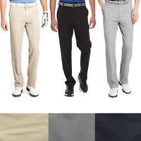 IZOD Golf Pants Men's Performance 5 Pocket Flat Front Stretch Microfiber Pant