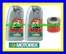 Kit Tagliando HUSQVARNA TE 310 13 + Filtro Olio MOTOREX Racing 20W/60 2013 (KTM)