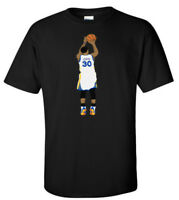 "BLACK Steph Curry Golden State Warriors ""Curry Pic"" jersey T-shirt Shirt"