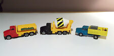 Concrete Mixer, Stake Truck, & Tanker models