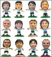 Corinthian Microstar Football Model Figures Argentina - Various Players