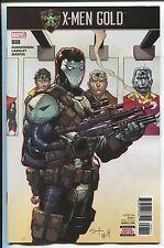 X-Men: Gold #8 - Ardian Syaf Cover - Ken Lashley Art - Marvel Comics/2017