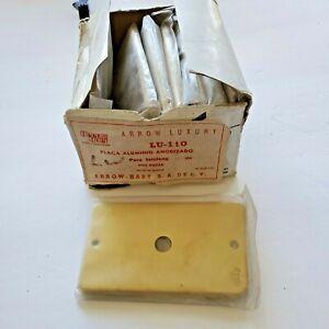 EATON CORPORATION (ARROW HART) LU-110 / LU110 SINGLE GANG METAL WALL PLATE