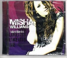 (GP492) Misha Williams, Take It Like It Is - 2006 Sealed CD