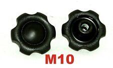 M10 Sterngriff Sternschraube Sternmutter Kreuzgriff  Klemmmutter Neu