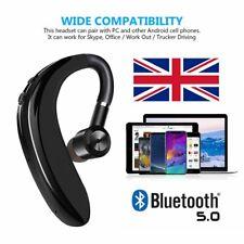 TWS Bluetooth 5.0 Mini Headset Wireless Headphones Earpiece Stereo Earphones UK