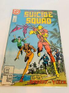 Suicide Squad 11 Comic Book vtg DC Ostrander Speedy Vixen 1988 Boomerang #11 MAR