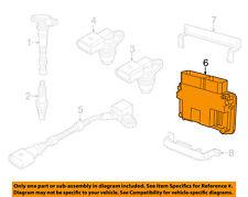 VW VOLKSWAGEN OEM Beetle-ECM PCM ECU Engine Control Module Computer 06K906071E