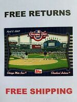 2007 Topps Opening Day Card #OD6 Cleveland Indians / Chicago White Sox MLB