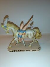 Vintage Willitts Design Mary Kern Acrobat on Circus Horse 1985 Figurine