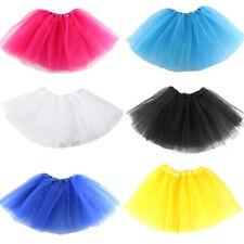 Girl Breathtaking Ballet Tutu Princess Dress Up Dance Wear Costume Party Skirts^
