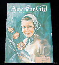VINTAGE  GIRL SCOUT - 1938 AMERICAN GIRL - MAY
