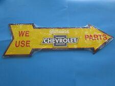 metal tin auto classic car truck chevy chevrolet dealer emblem logo m339