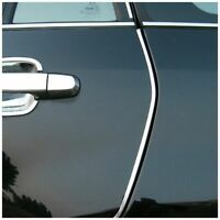 Decor DIY Interior Door Trim Chrome 4M Car U Silver Style Super Strip Mould Favo