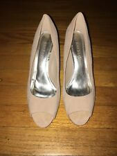Women dress shoes, color nude, brand bamboo, size 8