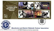 Londra 2012 paraolimpici M / S-MANCHESTER PTA ufficiale