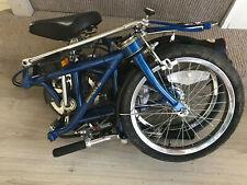 Dahon III Folding Bicycle blue