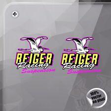 Pegatina reiger suspension Modelo 2 VINYL STICKER DECALS STICKERS aufkleber