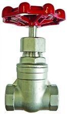 b15-01380 - Acier Inox Robinet-vanne - 1/2 BSP F/F S.S Robinet-vanne