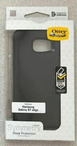 New Original Otterbox Symmetry Series Case for Samsung Galaxy S7 Edge - Black -!