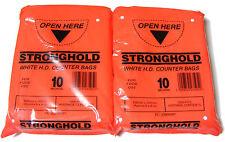 2000 HDPE Plastic Food Freezer Counter Sweet Butcher Bags 150x200 mm / 6x8 Inch