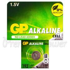 1 x GP Alkaline 192 LR41 battery 1.5V V3GA 192A GP192 SR41SW SR41