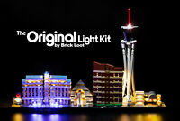 LED Lighting Kit for LEGO ® Architecture Skyline Las Vegas 21047