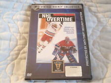 NHL OVERTIME DVD NEW HEROES AND DRAMA OF THE STANLEY CUP PLAYOFFS VINTAGE HOCKEY