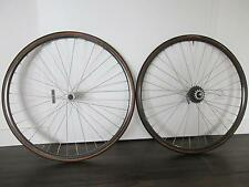 VINTAGE Mavic Open 4 CD DURA ACE 7400 UG DT Swiss BICICLETTA DA CORSA BICI frase Wheel Set