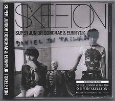 Donghae & Eunhyuk: Skeleton (2014) Japan Super Junior  / CD & CARD TAIWAN
