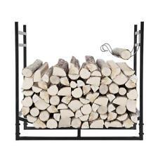 Wood Storage Firewood Rack Fire Wood Storage Stacking Set with Kindling Holder