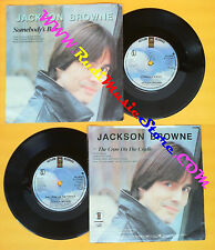 LP 45 7'' JACKSON BROWNE Somebody's baby The crow on the cradle  no cd mc dvd