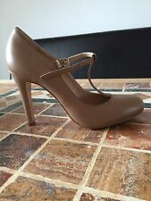NEU EVITA Shoes, Riemchen Pumps Slingpumps Leder, beige / nude, Gr. 39, NP 149 €