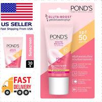 Ponds White Beauty Sun Protect Serum Facial Cream SPF50 PA+++ 30g US Seller 🇺🇸