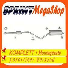 RENAULT MEGANE I 1.4 1.6 75//90PS 1995-2002 Mitteltopf Auspuff+