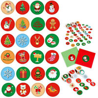 Elk Cookie Bags Party Supplies Package Label Tag Kraft Stickers Merry Christmas