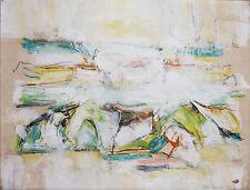 PHILLIP MAKANNA-Mixed Media Painting-Abstract Landscape