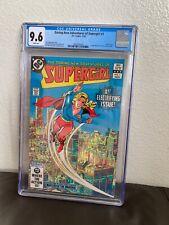 Daring New Adventures Of Supergirl #1 CGC 9.8 WP DC Comics Origin Retold 11/82