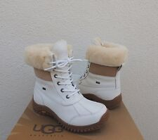 UGG WHITE ADIRONDACK II eVENT WATERPROOF SHEEPSKIN BOOTS, US 8.5/ EUR 39.5 ~ NEW