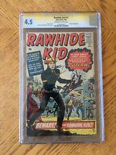 Rawhide Kid #17 Signed Stan Lee 1st Appearance & Origin Rawhide Kid 4.5 VG+ CGC