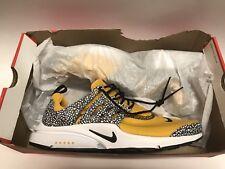 Nike Air Presto QS Safari University Gold Size 11 New 100% Authentic ShoeZeum