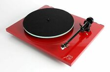 Rega Planar 2 Turntable With Cartridge Fitted - Gloss Red of Vinyl