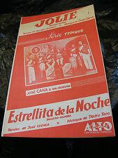 Partition Jolie José Cana Estrellita de la Noche Pedro Faro Music Sheet