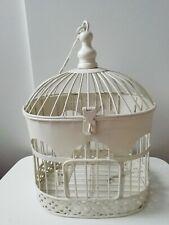 Vintage Decorative Metal Bird Cage 32 x 23 Cm Hanging