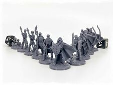 Skeleton Horde Set of 10 Miniatures 28mm Dungeons and Dragons DnD Mini
