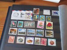 22 timbres stamp NOUVELLE ZELANDE   OBLITÉRÉS TOUS ETATS VOIR PHOTOS