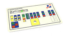 NEW MIXER CONTROL 15412 INTERFACE REPLACEMENT PANEL
