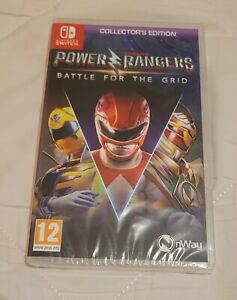 SFT NSW-Power Rangers: Battle For The Grid: Collectors Edition SWITCH GAME NEW